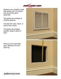 How To Install Filter Grille Assembly